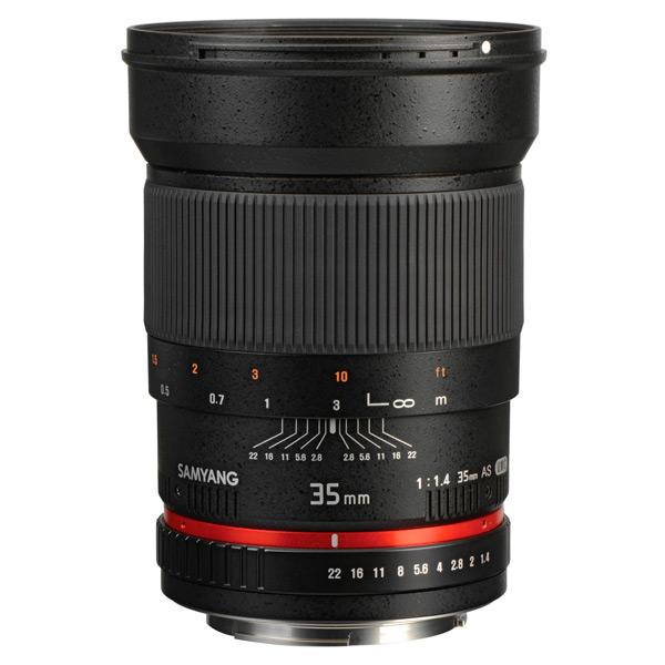 Объектив Samyang 35mm f/1.4 ED AS UMC Canon EF canon as 130 черный