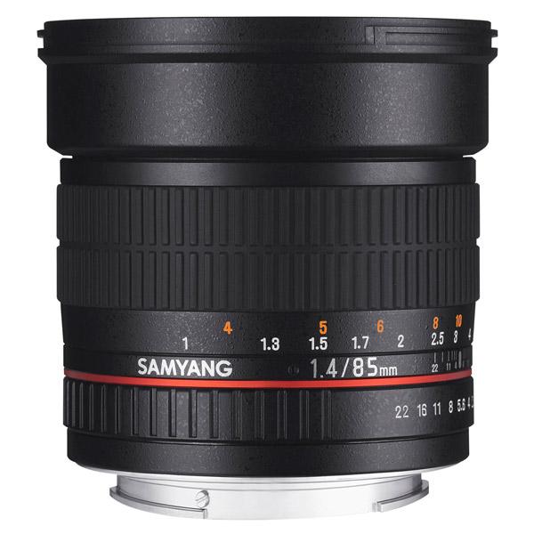 Объектив для зеркального фотоаппарата Canon Samyang 85mm f/1.4 AS IF Canon EF объектив samyang 85mm f 1 4 as if canon ef