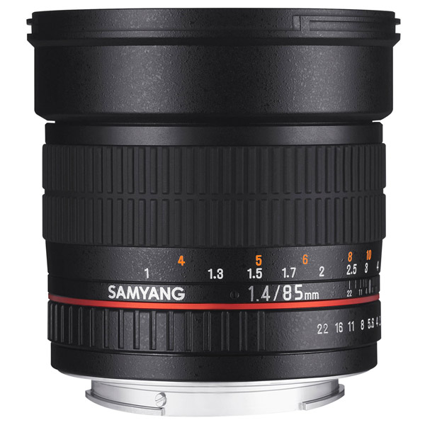 Объектив Samyang 85mm f/1.4 AS IF UMC AE Nikon F объектив samyang sony e nex 85 mm f 1 4 as if umc