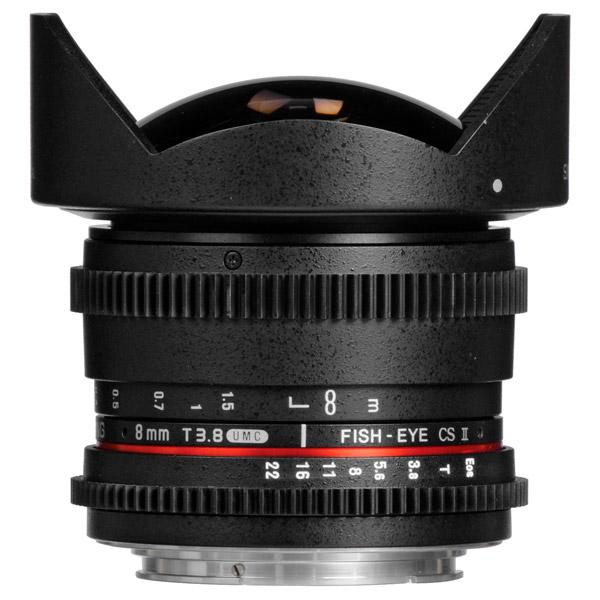 Объектив Samyang 8mm T3.8 AS IF UMC Fish-eye CS II VDSLR Nikon F объектив samyang sony e nex mf 8 mm t3 1 cine umc fish eye ii vdslr