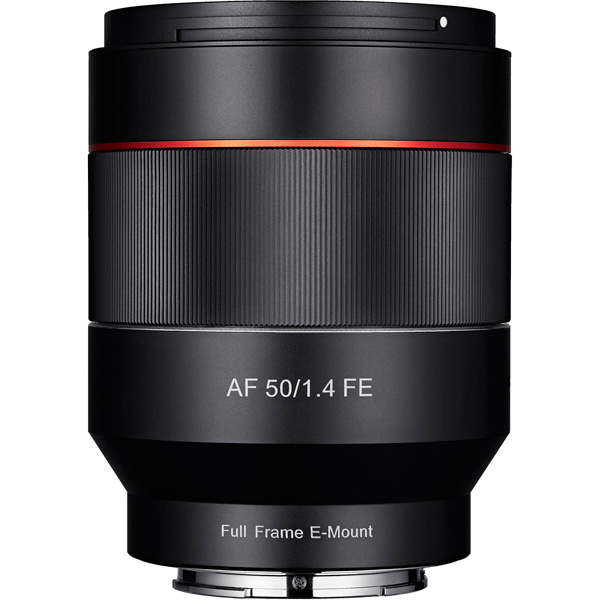 Объектив Samyang AF 50mm f/1.4 FE AS UMC Sony E sony sony fe 24 70 f2 8 gm полный кадр стандартный зум объектив sel2470gm