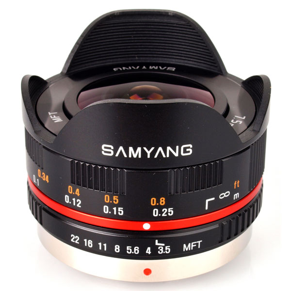 Объектив Samyang 7.5mm f/3.5 AS IF UMC Fish-eye micro 4/3 Black объектив samyang sony e nex 85 mm f 1 4 as if umc