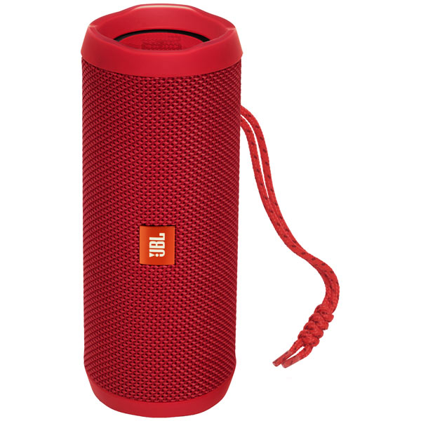 Беспроводная акустика JBL Flip 4 Red (JBLFLIP4RED) наушники bluetooth jbl e55bt red jble55btred