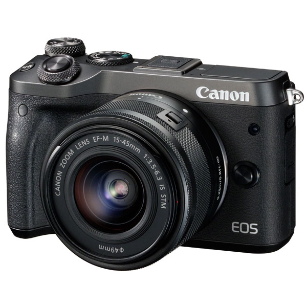 Фотоаппарат системный премиум Canon EOS M6 EF-M15-45 IS STM Kit фотоаппарат системный canon eos m100 ef m15 45 is stm kit black