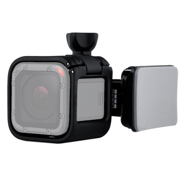 Аксессуар для экшн камер GoPro Поворотн.крепление на шлем д/Session (ARSDM-001) gopro helmet front and side mount ahfsm 001 набор креплений на шлем для камер gopro black