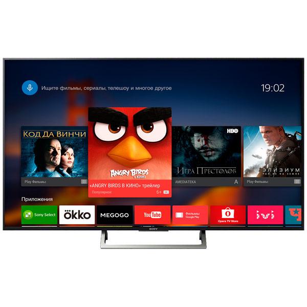 Телевизор Sony KD55XE8577 док станция sony dk28 tv dock