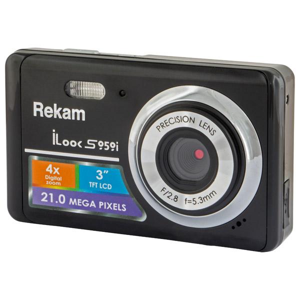 фотоаппарат rekam ilook s959i black Фотоаппарат компактный Rekam iLook S959i Black