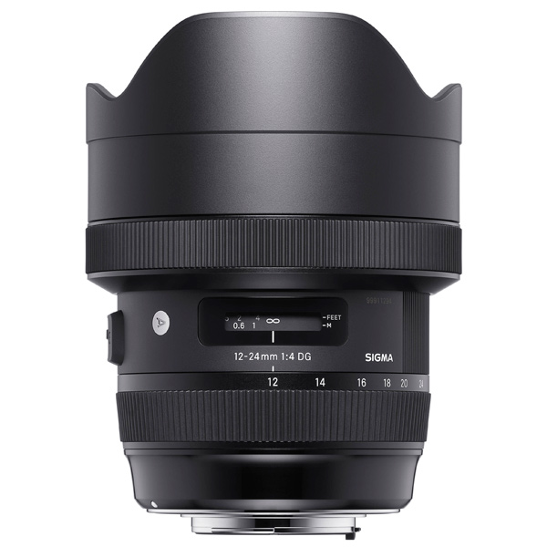 Объектив Sigma 12-24MM F4.0 DG HSM Art Nikon