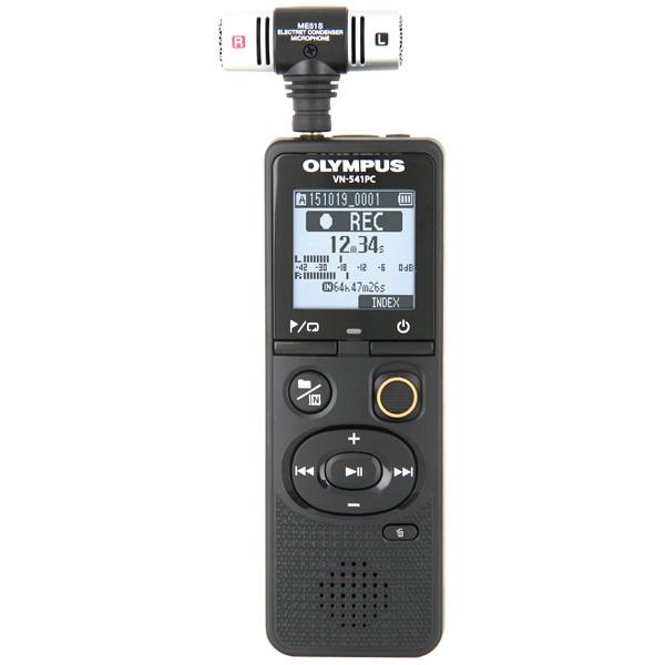 Диктофон цифровой Olympus VN-541PC (4GB) в компл. со стереомикрофоном ME51 olympus me 51s