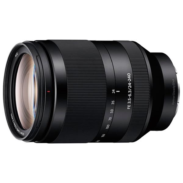 Объектив Sony FE 24-240 мм F3.5-6.3 OSS (SEL24240) new sony fe 24 240mm f3 5 6 3 oss zoom lens sel24240