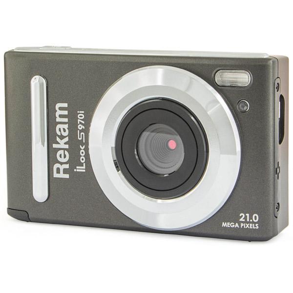 фотоаппарат rekam ilook s959i black Фотоаппарат компактный Rekam iLook S970i Black Metallic