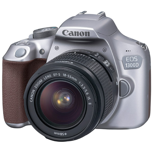 Фотоаппарат зеркальный Canon EOS 1300D EF-S 18-55 IS II Kit Grey canon eos 50d kit ef s 18 200