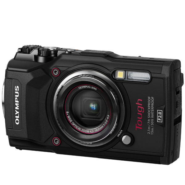 Фотоаппарат компактный Olympus TG-5 Black action камера olympus tg tracker black