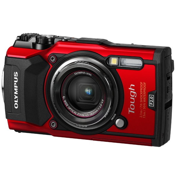 Фотоаппарат компактный Olympus TG-5 Red action камера olympus tg tracker black