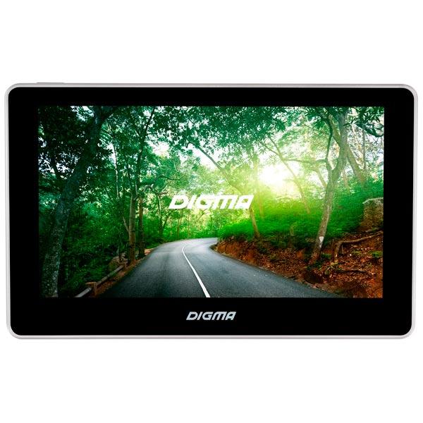 Digma, Портативный gps-навигатор, AllDrive 700 Black