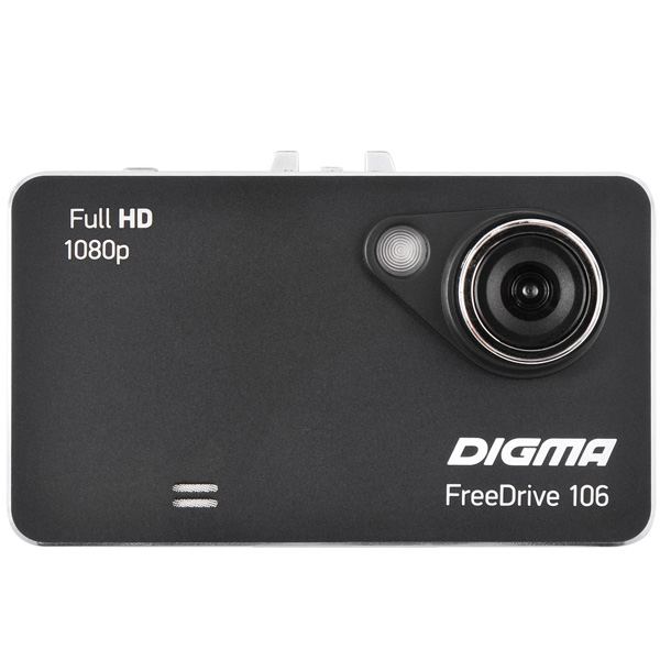 Видеорегистратор Digma FreeDrive 106 Black видеорегистратор digma freedrive ojo black
