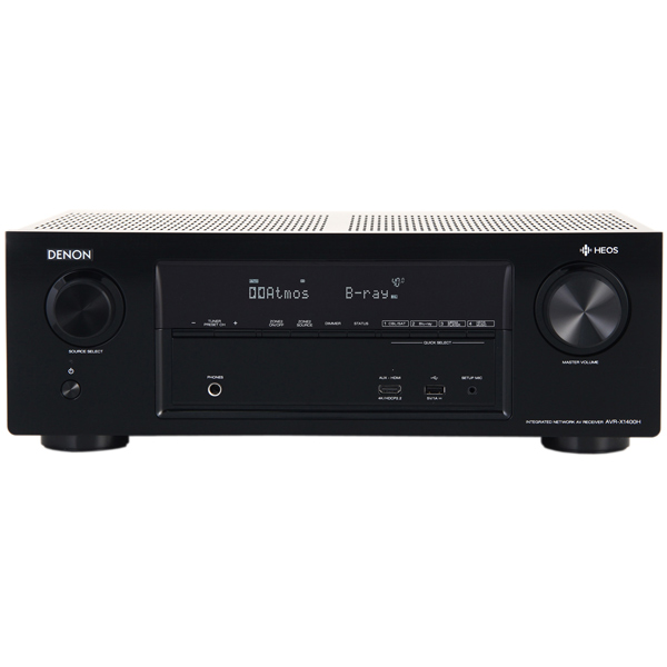 Ресивер Denon AVR-X1400HBKE2 denon avr x4300h black
