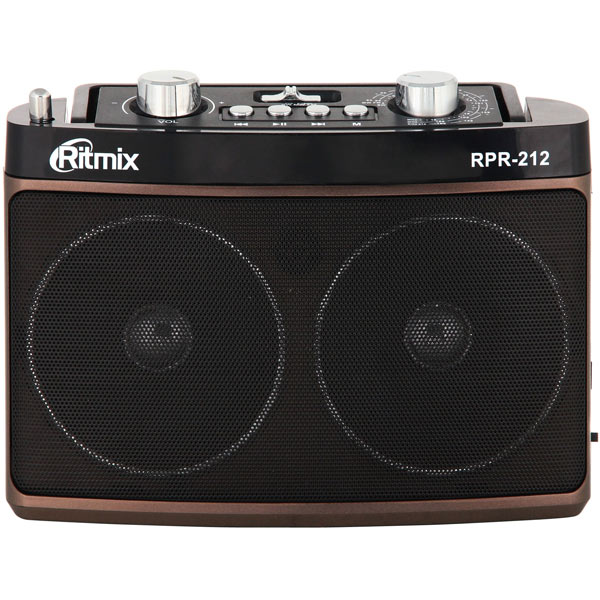 цена на Радиоприемник Ritmix RPR-212 Brown