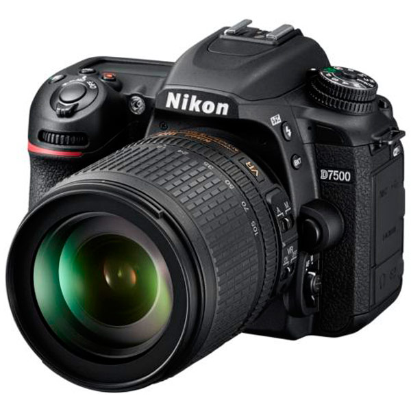 Фотоаппарат зеркальный Nikon — D7500 18-105 VR Kit