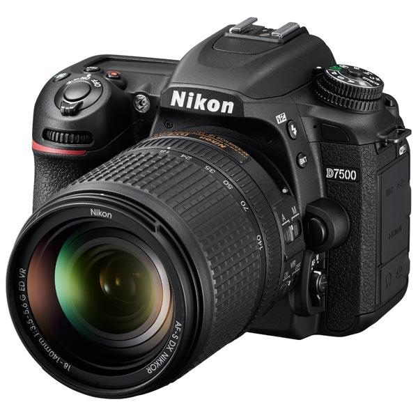 Фотоаппарат зеркальный Nikon D7500 18-140 VR Kit