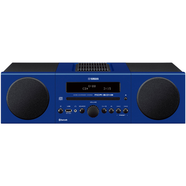 Музыкальный центр Micro Yamaha MCR-B043 Blue yamaha mcr b020 orange