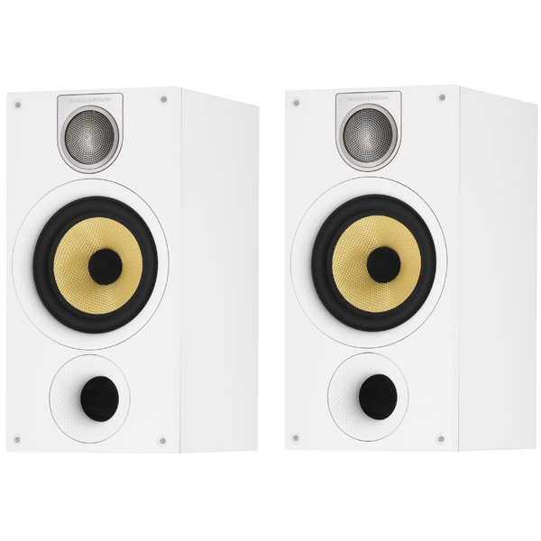 Полочные колонки Bowers & Wilkins 686 S2 Matte White колонки bowers