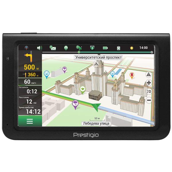 Портативный GPS-навигатор Prestigio GeoVision 5069 (PGPS5069CIS04GBNV)