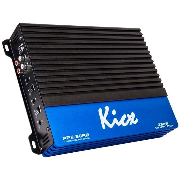 Автомобильный усилитель (2 канала) Kicx AP 2.80AB усилитель мощности 850 2000 вт 4 ом behringer europower ep4000