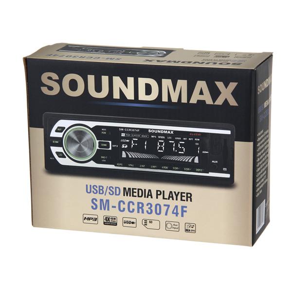 Автомагнитола SoundMAX SM-CCR3074F - фото 8