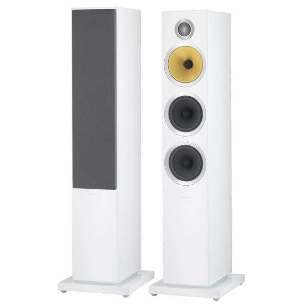 Напольные колонки Bowers & Wilkins CM8 S2 Satin White колонки bowers