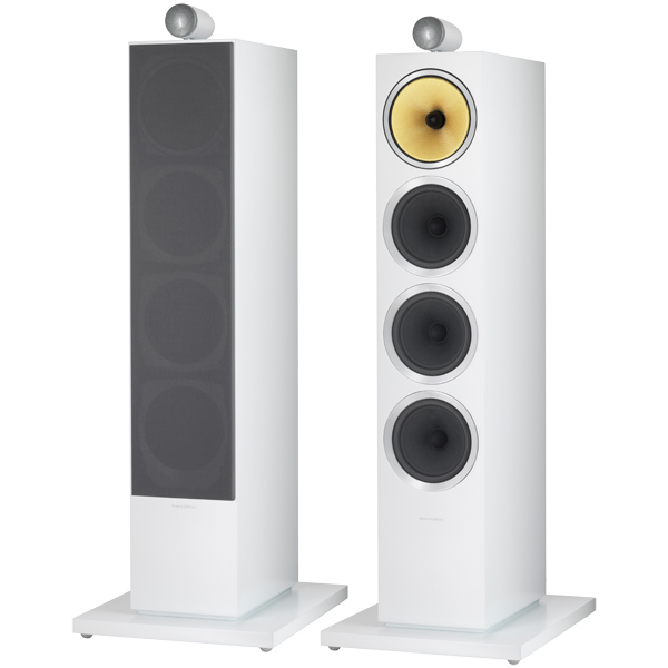 Напольные колонки Bowers & Wilkins CM10 S2 Satin White колонки bowers