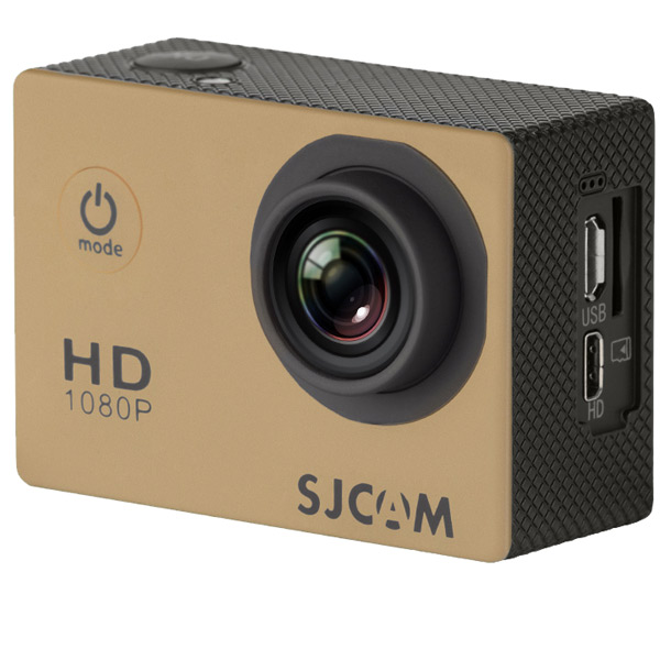 Видеокамера экшн SJCAM SJ4000 Золотистый