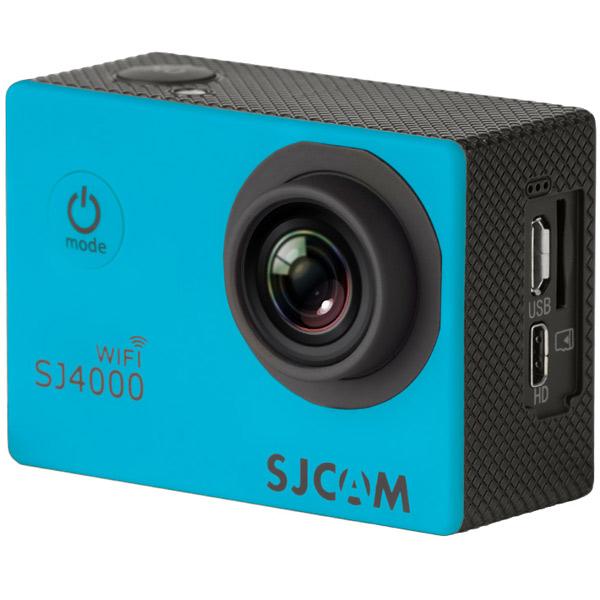 Видеокамера экшн SJCAM SJ4000 WiFi Синий