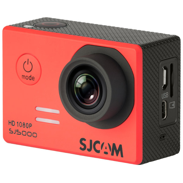 Видеокамера экшн SJCAM SJ5000 Красный экшн камера sjcam sj5000 красный sj5000red