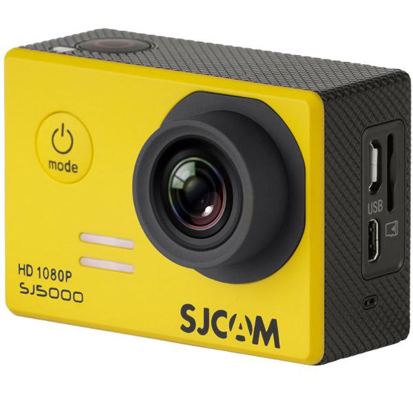 Видеокамера экшн SJCAM SJ5000 Желтый