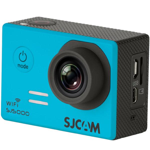 Видеокамера экшн SJCAM SJ5000 WiFi Синий