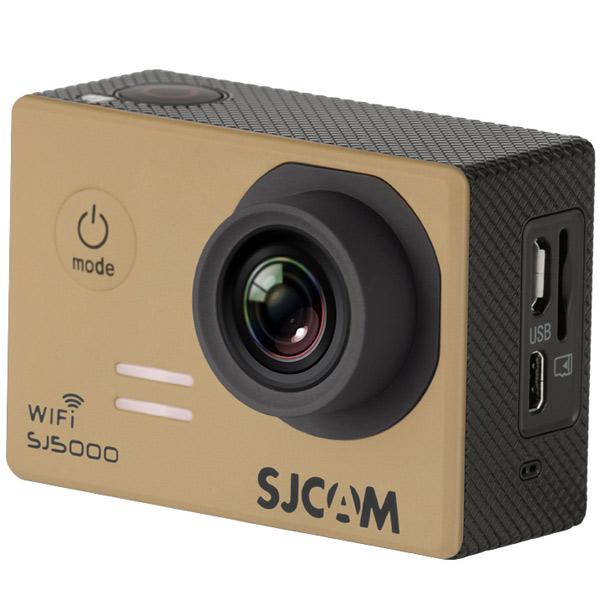 Видеокамера экшн SJCAM SJ5000 WiFi Золотистый