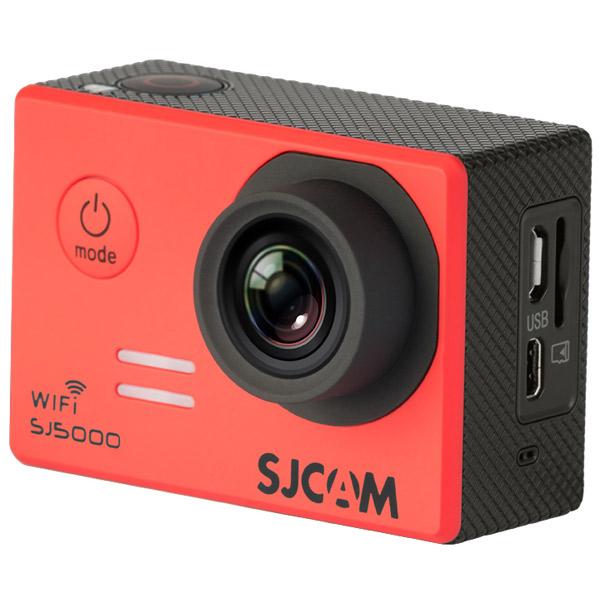 Видеокамера экшн SJCAM SJ5000 WiFi Красный sjcam sj5000 wifi black экшн камера