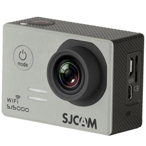 Видеокамера экшн SJCAM SJ5000 WiFi Серебристый sjcam sj5000 wifi black экшн камера