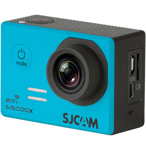 Видеокамера экшн SJCAM SJ5000X Elite Синий 2 0 4k sjcam sj5000 series sj5000x elite wifi ntk96660 mini gyro 30 waterproof sports action camera sj cam dvr many accessories