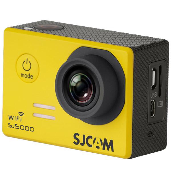 Видеокамера экшн SJCAM SJ5000 WiFi Желтый sjcam sj5000 wifi black экшн камера