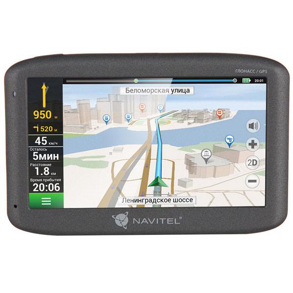 Портативный GPS-навигатор Navitel G500 gps навигатор navitel n500 5 авто 4гб navitel серый