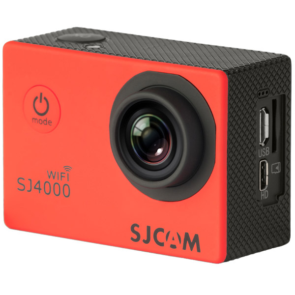 Видеокамера экшн SJCAM SJ4000 WiFi Red