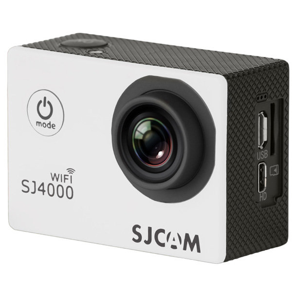 SJCAM, Видеокамера экшн, SJ4000 WiFi White