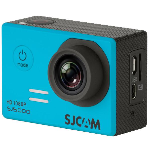 Видеокамера экшн SJCAM SJ5000 Blue карты памяти