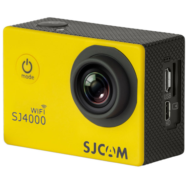 Видеокамера экшн SJCAM SJ4000 WiFi Yellow