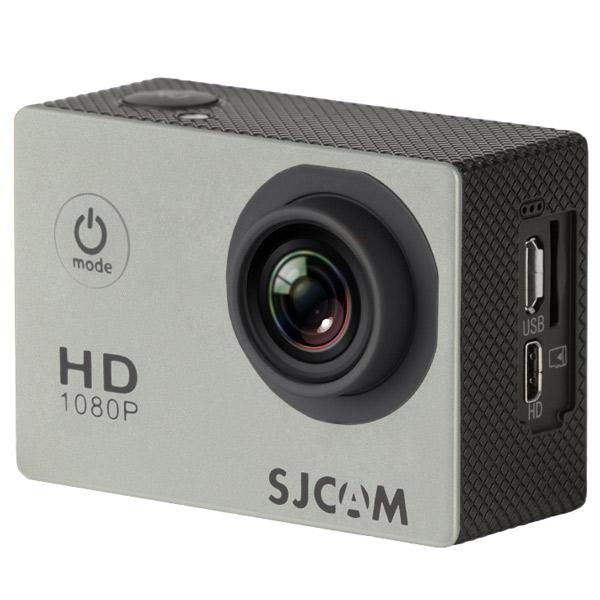 "SJCAM, Видеокамера экшн, SJ4000 2"" silver"