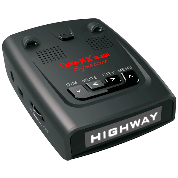 Автомобильный радар Sho-Me G-800 Signature