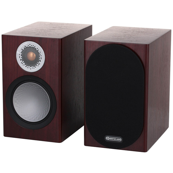 Полочные колонки Monitor Audio Silver 50 Walnut полочные колонки monitor audio monitor mr2 walnut
