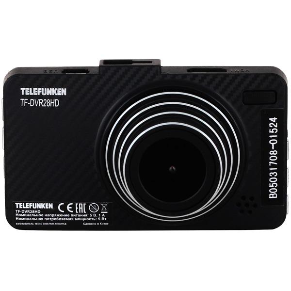 Видеорегистратор Telefunken TF-DVR28HD Black